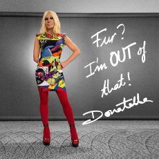 Versace says fur is over!